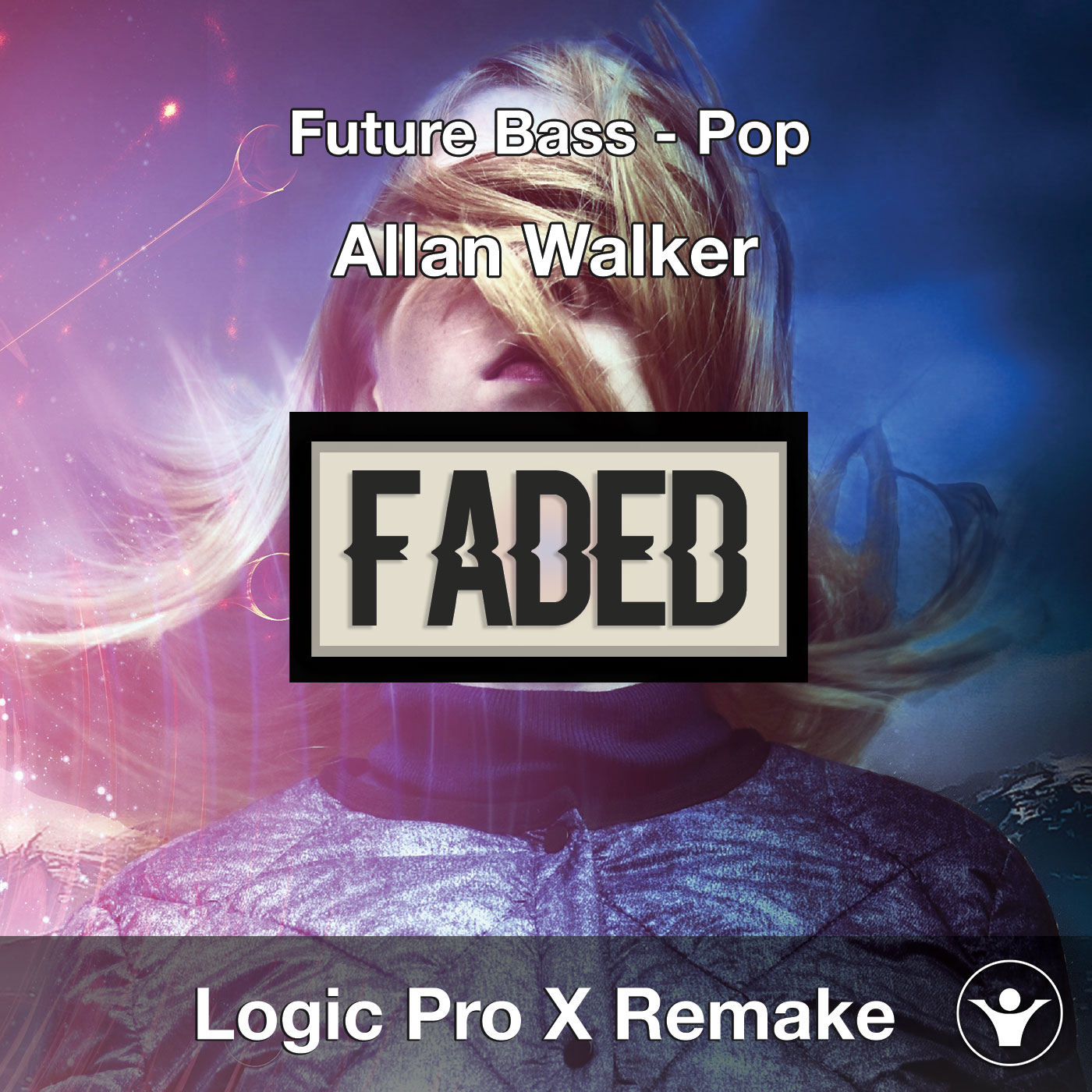 Faded (Alan Walker) - Logic Pro X Project Cover