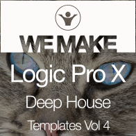 Logic templates projects over 800 available in all popular music we make logic pro x deep house templates vol 4 maxwellsz